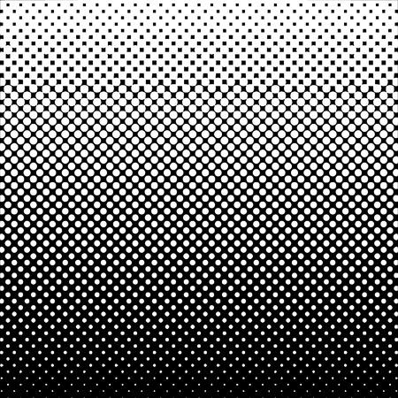 Fondo de semitono abstracto Blanco y Negro Vector