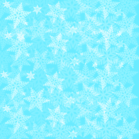 Merry Christmas Snowflakes Background Wallpaper Vector