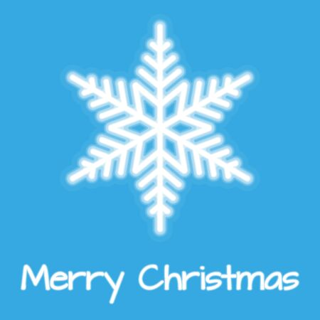 pf: Christmas Snowflakes Vector with Blurred Effect