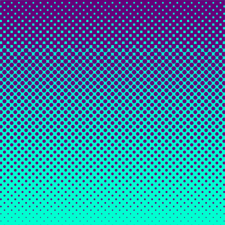 Halftone Abstract Background Purple and Green Vector