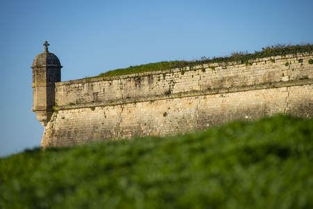 Blaye Citadel, UNESCO world heritage site in Gironde, Aquitaine, France 版權商用圖片