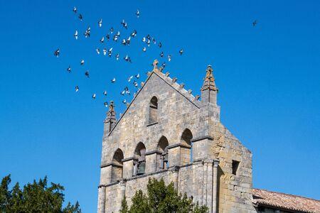 CHURCH OF BLASIMON, ENTRE DEUX MERS, GIRONDE, AQUITAINE, FRANCE