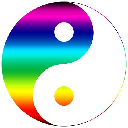 Yin Yang Rainbow