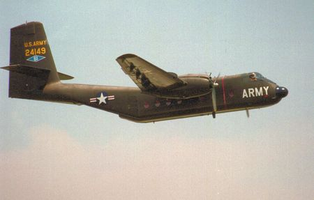 widely: Army Caribou aircraft used widely in Vietnam Editorial