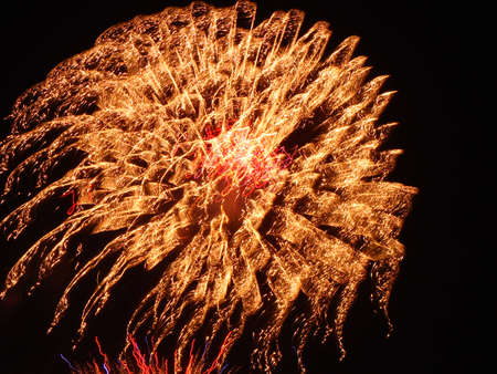 detonation: fireworks Stock Photo