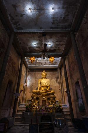 Buddha Image in Wat Bang Kung photo