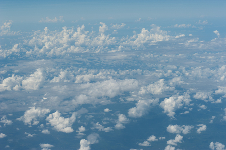 blu sky: Clouds and Blu Sky from Air Plane