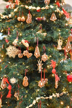 A. decorated Christmas tree in Bad Ischl