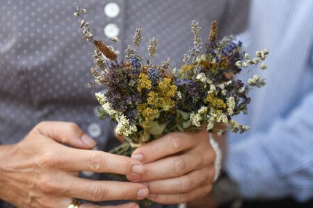 Herbal consecration is one of the popular customs of the Roman Catholic Church. Herbs are tied to a bouquet at the Hochfest Mari Himmelfahrt on August 15 and brought to the church.