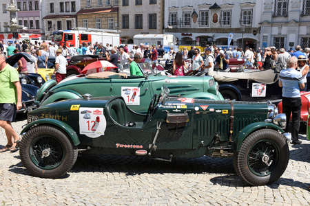 The Ennstal-Classic is one of the best-known classic car rallies in Austria and Europe for historic automobiles built up to 1972