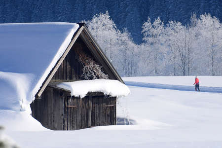 The winter wonderland Gosau in the south of Upper Austria is a paradise for cross-country skiing.
