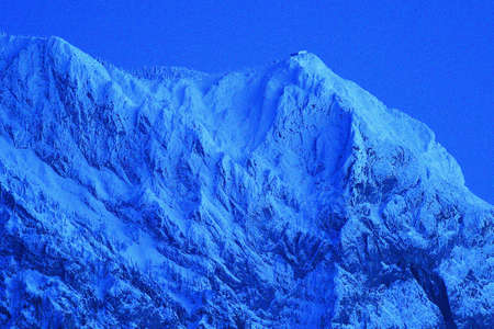 The Traunstein - a striking mountain in the Salzkammergut (Upper Austria, Austria) Editoriali