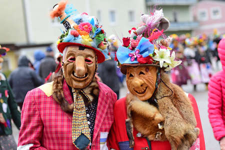 Carnival in the Salzkammergut - Carnival in the Salzkammergut - there is still a good party here (Gmunden district, Upper Austria, Austria)