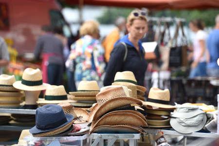 Weekly green market in Gmunden