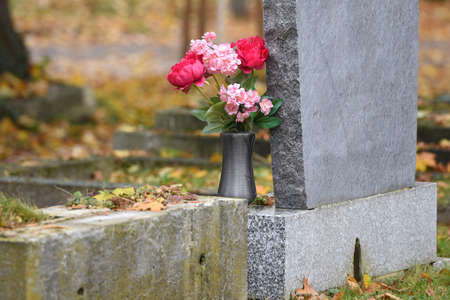 Impression from the Central Cemetery in Vienna, Austria, Europe