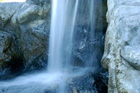 Mystic Waterfall Stock Photo