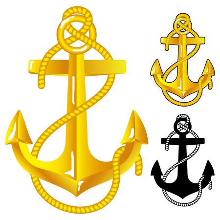 at anchor: Ancla