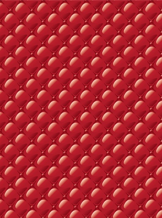 Stylization of upholstery fabric with buttons. Background. Vector