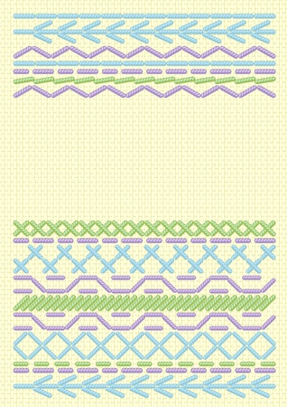embroider: Background  with ethnic embroider.