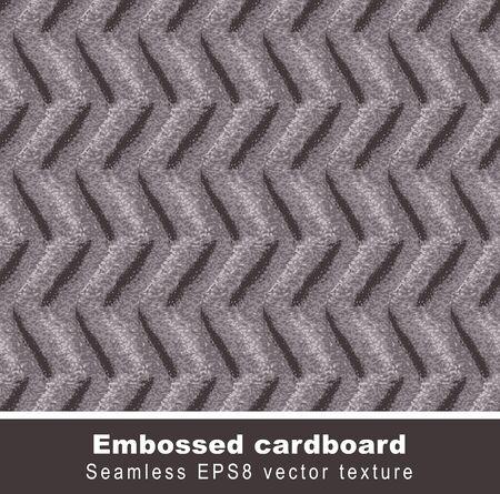 embossed paper: Embossed cardboard.seamless background.