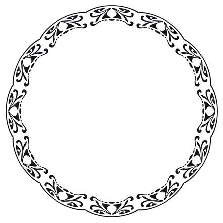 stile liberty: Telaio arrotondato in stile Art Nouveau