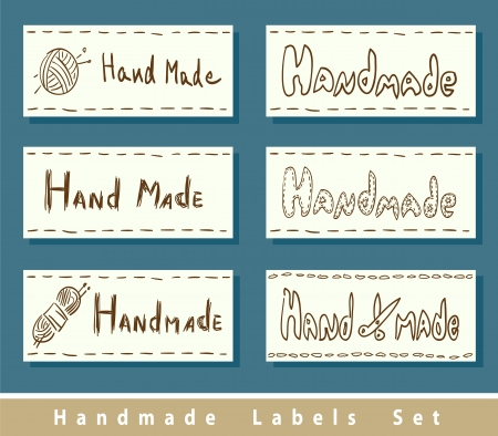 space needle: Handmade labels