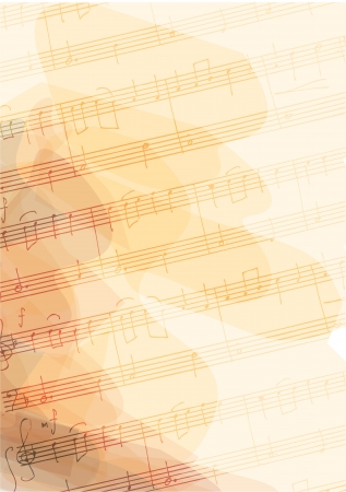 musica clasica: Bsckground a mano con notas musicales