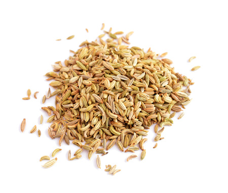 fennel: Fennel seeds Stock Photo