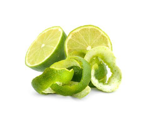 limon: Limes pelar aislado.