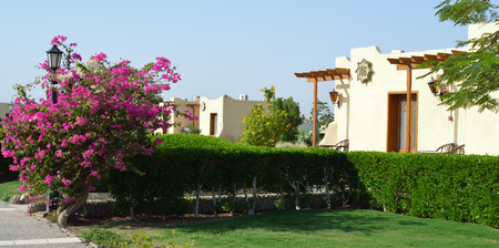 Bungalows, Egypt, Hurghada. Editorial