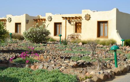 Bungalows, Egypt, Hurghada. Editorial