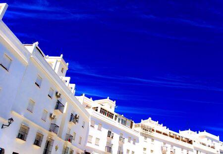 idylle: blue sky Stock Photo