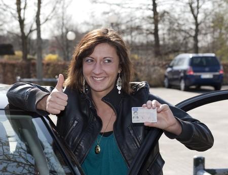 Driving licence Reklamní fotografie