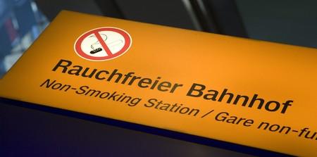 forbade: no smoking Stock Photo