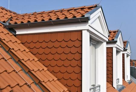 flat roof: Attic