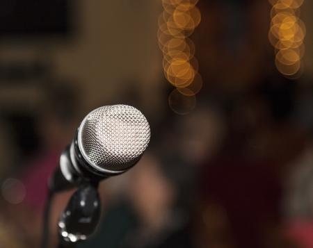 spokesman: Microphone