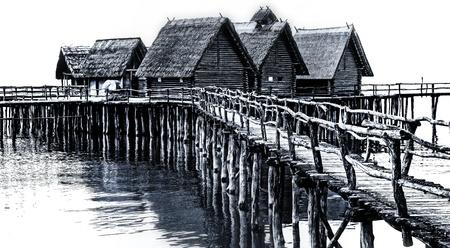 fascination: Wooden buildings