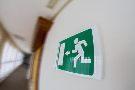 Fire Exit Reklamní fotografie