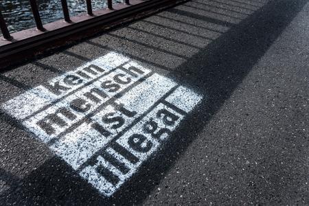 no pase: nadie es ilegal