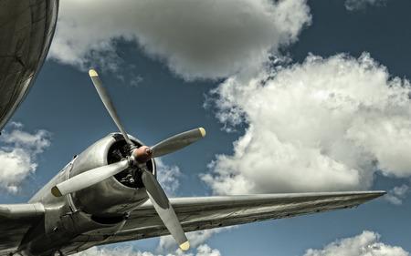 aluminum airplane: Propeller