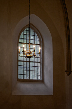 Window in a church