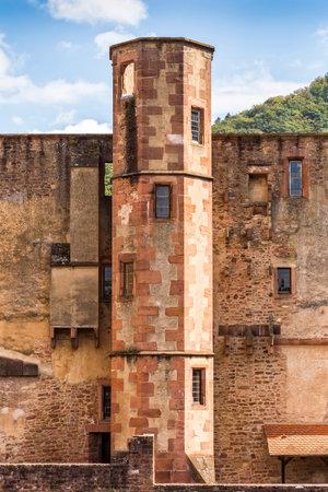 impregnable: The Heidelberg Castle in Baden-Wrtemberg
