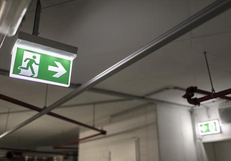 Emergency exit Reklamní fotografie - 39492904