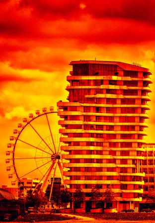 ruby house: Der Marco Polo Turm in der Hamburger Hafencity