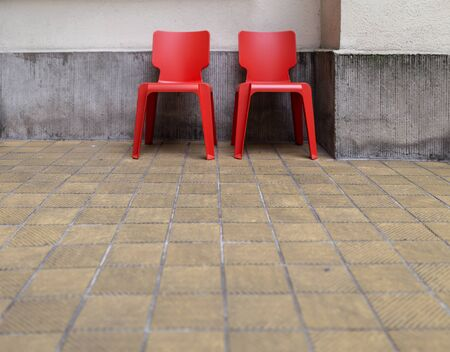 plastik: Red Chairs