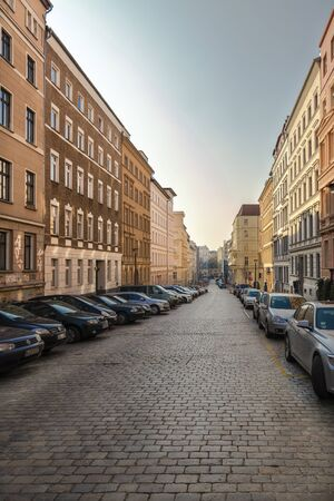 housebuilding: Street in Berlin