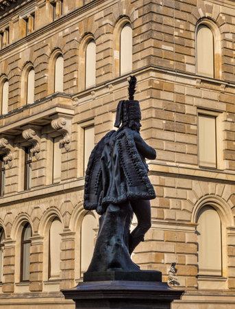 figur: Statue des Hans Joachim von Zieten in Berlin Mitte