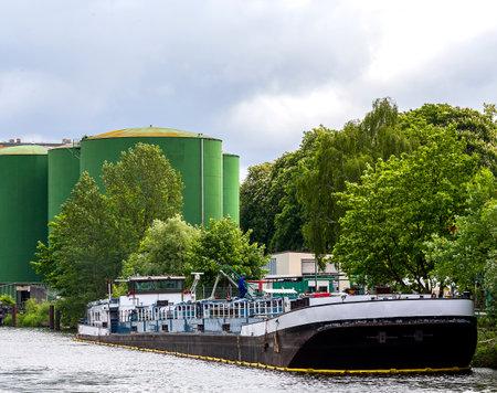 tanker Reklamní fotografie - 44266594
