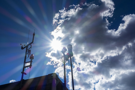 climatic: Weather Station Stock Photo