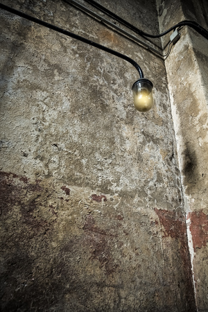 in an old factory Reklamní fotografie